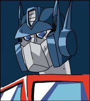 Quick G1 Optimus Study by BlueIke