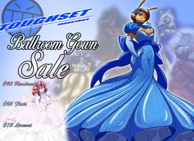 Ballroom Gown Sale by Toughset