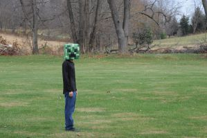 Creeper Costume 1 by Wizard-K