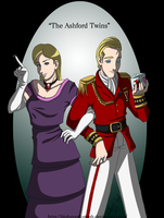 """The Ashford Twins"" by Biohazard-Steph"