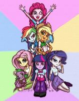 Equestria Girls by Rahdys