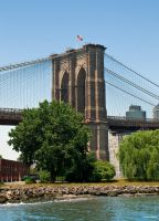 The Brooklyn Bridge by BeBeWalt