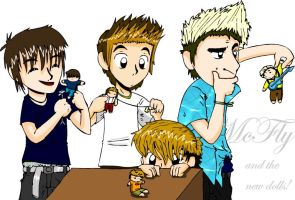 McFly and the new dolls by s0s2