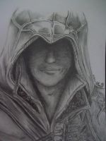 Ezio (Assassin's Creed) by Eternal--Art