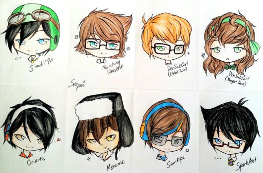 MCYT and YouTuber SHIPPING SONS! - Batch 2 by Kim-senpai-san