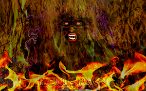 HELLSPAWN HORROR ABSTRACT by CSuk-1T