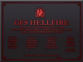 GFS Hellfire Plaque by LordTrekie