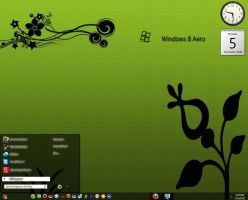 Win8 Style Aero Black Theme By swapnil36fg by KeybrdCowboy