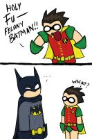 Robin's in Trouble. by kmcarthoway