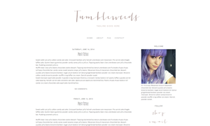 Tumbleweeds Blogger Template by candypow