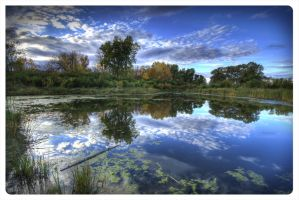 Little pond - big sky 2 by AmirNasher