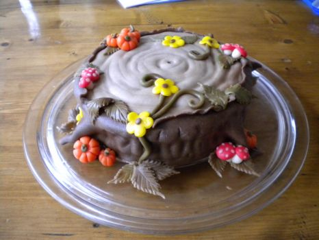 Another Autumn cake by Naera
