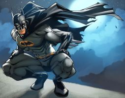 BATMAN nemafronspain contest by deffectx