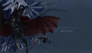 Dark-Dragon-Aera 2 by REYKAT