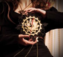 Steampunk Clock by SailorFran