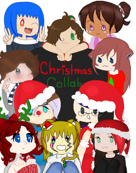 Christmas Collab :Collab part: by OMGLola913