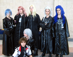 Remnants of Org. XIII -Cosplay by Yuriko-Kaijou