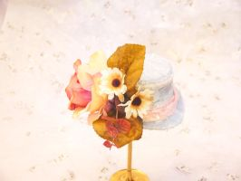 Blue Bell Mini Top Hat by smallrinilady