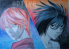 Death Note: Light and L by AdiLABS