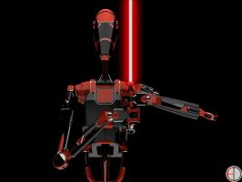 Dark Battle Droid - 6 by mech7