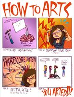 How To Arts by MeraMeraWolf