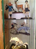 Princess mononoke figure collection by frerr2