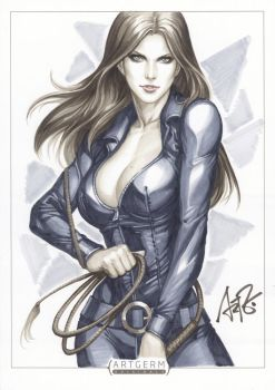 Sydney Savage Original 1 by Artgerm