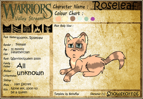 Roseleaf ref new and ugly by Shoeboo