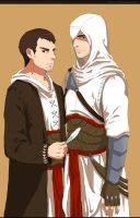Altair and Malik by Nicca11y