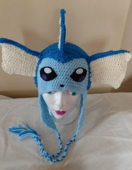 Vaporeon beanie hat by Sasophie