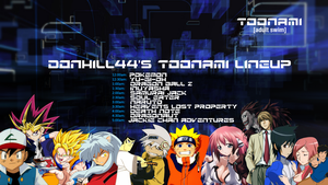 My Full Toonami Lineup by Donhill44