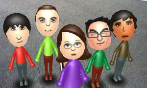 Mii and The Guys by VATalbot