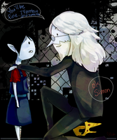 Simon and Marcy by midu-al