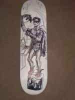 ROBIN skateboard deck 05 by ztenzila