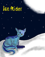 Cover of my comic: Ice Rider by Meshion
