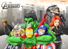 The Avengers by LinkerLuis