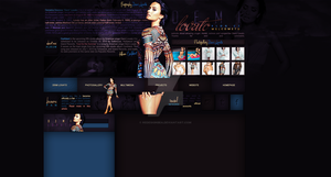 Simple layout With Demi Lovato (Premade/Free) by redesignbea