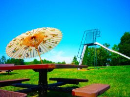 Parasol by Fruits-and-Spears
