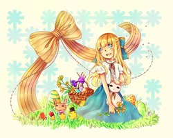 Easter '12 by Yennineii