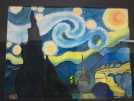 Starry Night by ObliviousAbsence