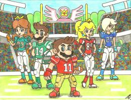 Mushroom Kingdom Football League (Part 1) by Villaman89