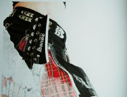 Rock Chick Colour WIP 3 by RTyson