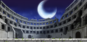 Luna Coloseum by sannesan