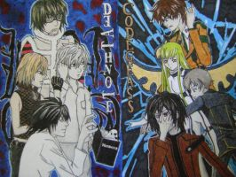 Death Note Meets Code Geass by MattJeevasLover
