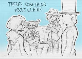 There's Something About Claire by zillabean