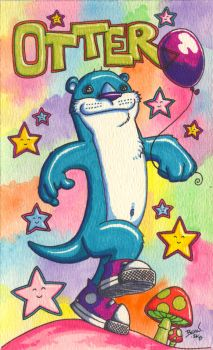 Otter. by hedbonstudios