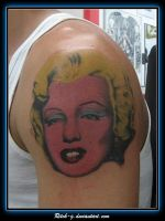 Andy Warhol Marilyn by ritch-g