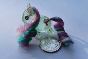 My Little Pony Pudgy Ragdoll Fizzy by TiellaNicole