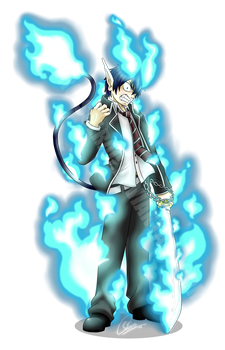 Commission for BluQuer: Rin Okumura by Ero-Solrac