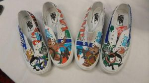 olympic sneakers by brolicdesigns